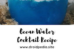 Ocean Water Cocktail Recipe