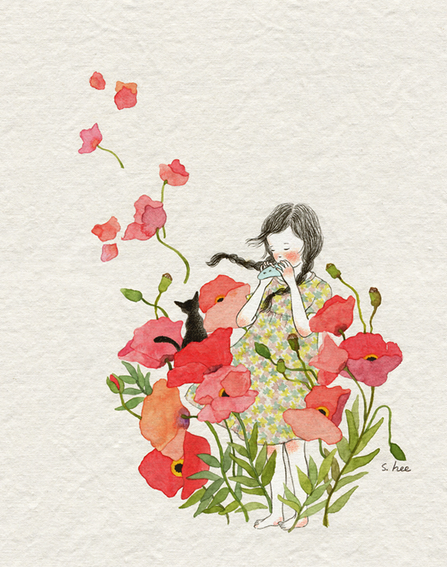 Beautiful illustrations by H. See