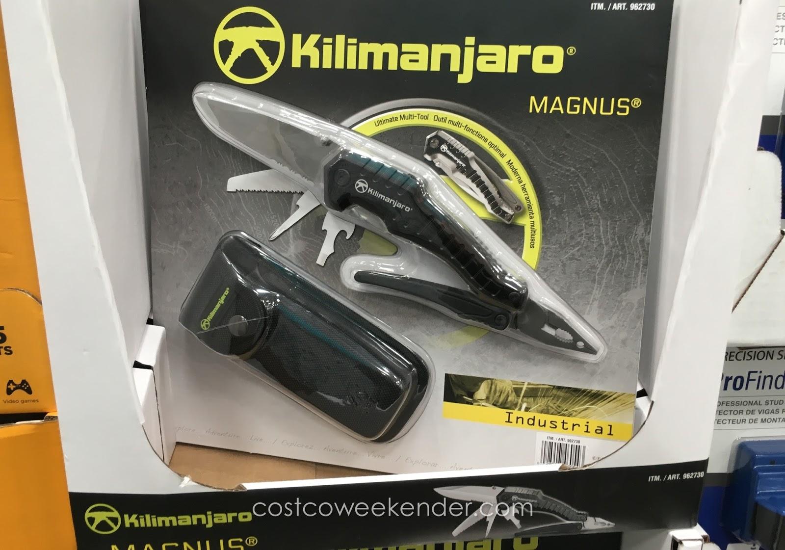 Kilimanjaro Magnus 9 In 1 Folding Multitool Costco Weekender