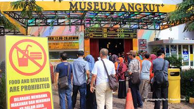 Foto Ticket Box Museum Angkut Batu di Jawa Timur.