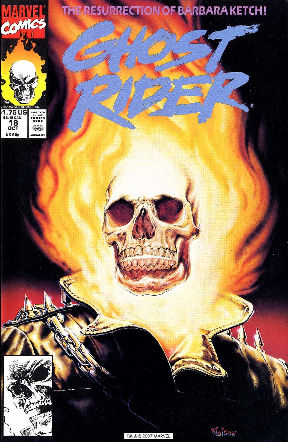 Ghost Rider (1990) 18 Page 1