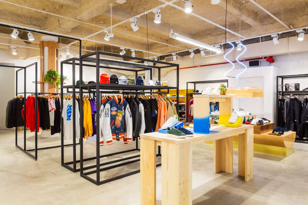 f5ea7dcb1cc The New York City footwear retail landscape welcomes a new name this week  with the opening of Sneakersnstuff NYC in the Meatpacking District.