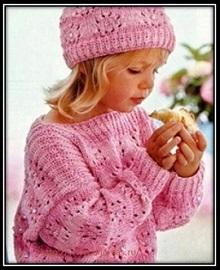 pulover dlya devochki spicami