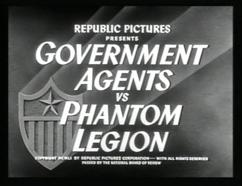 Thrilling Days of Yesteryear: Government Agents vs  Phantom