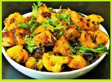 सादा गोभी आलू की सब्जी - Aloo Gobi Masala Recipe in Hindi