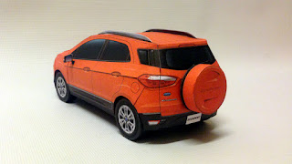 ford ecosport paper model