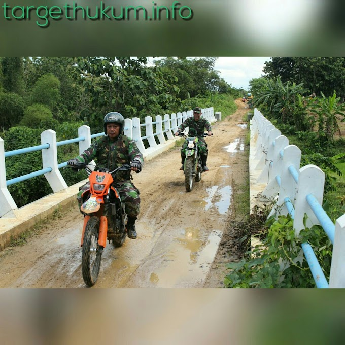 Dandim 0718 PATI Trabas Jalur Rabat Beton Program TMMD Reguler 101 2018 Desa Godo Kec. Winong