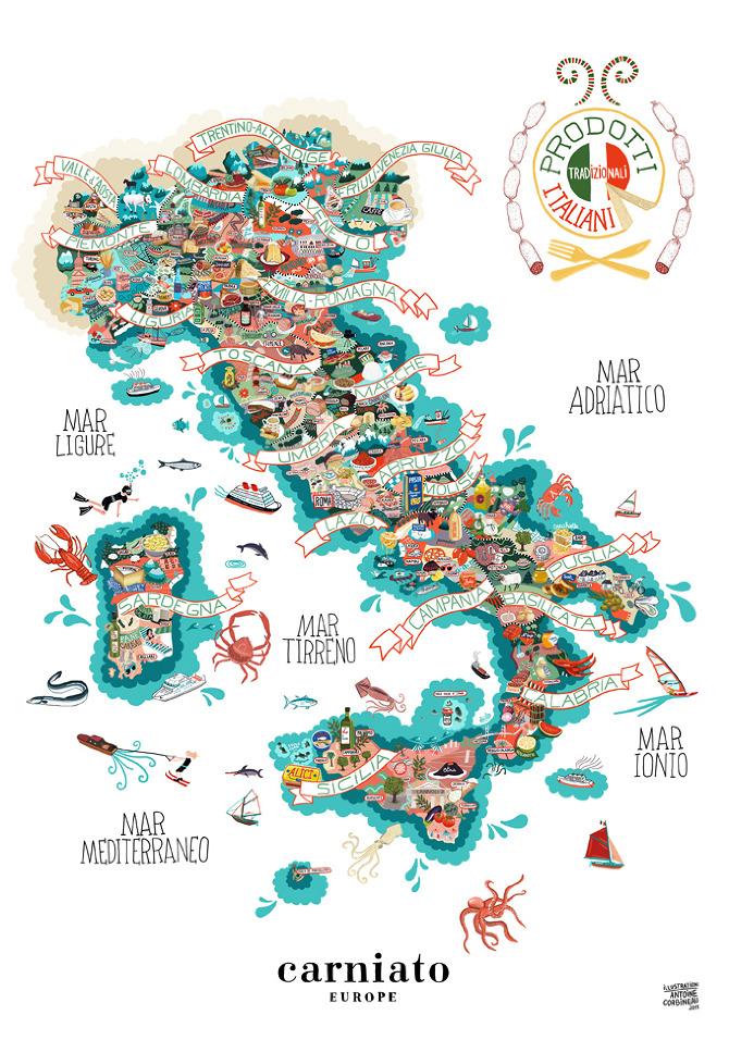 Ricette veloci easy recipes i piatti tipici delle regioni for Roma piatti tipici
