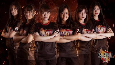 Team e-Sports JKT48 Valkyrie48 malah dibully penonton