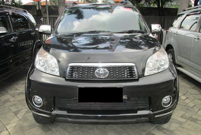 Eksterior Depan Toyota Rush Edisi Kedua