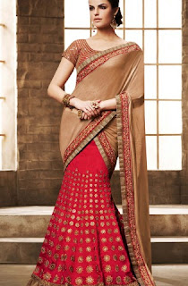 beige-red-embroidered-lehenga-saree