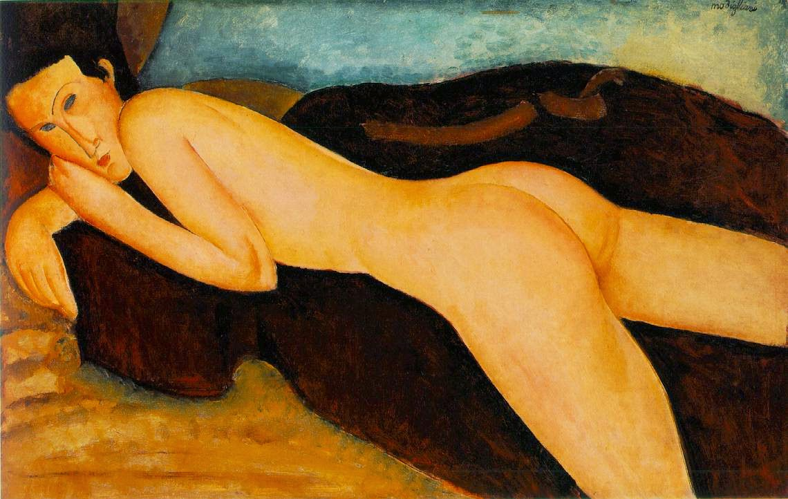 Costas Nuas - Amedeo Modigliani e suas pricipais pinturas