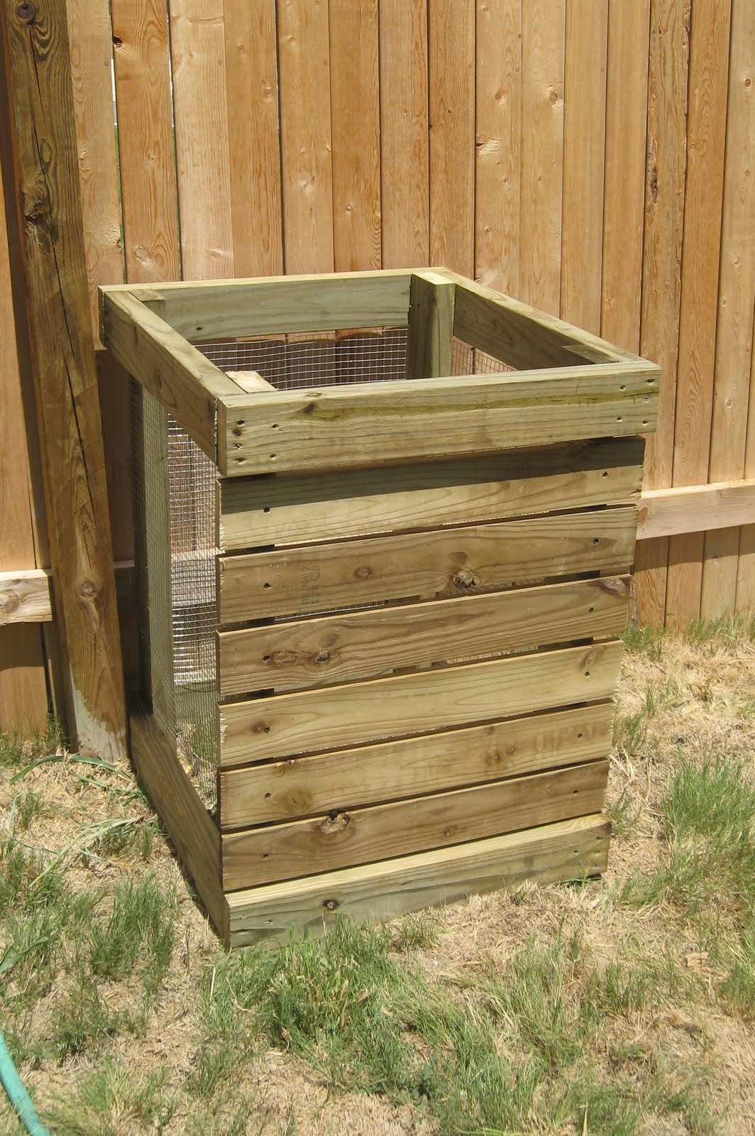 Diy Compost Bin Plans Next To Heaven Diy Compost Bin
