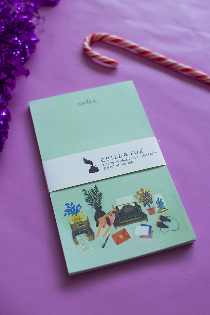 Quill & Fox Notepad
