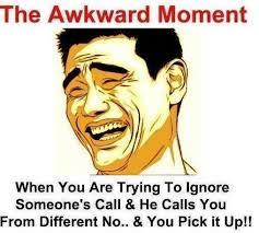 Awkward Moment Status