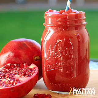 Skinny Pomegranate Detoxifying Drink