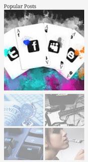Top ten 5 popular posts widget for blogger 2021