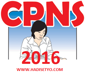 Jadwal Pendaftaran CPNS Online 2016, Kuota CPNS 2016, Formasi CPNS 2016  pendaftaran cpns 2016 online img