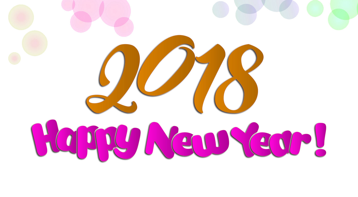 [500+] Happy New Year 2018 HD Wallpapers, Images, Pictures