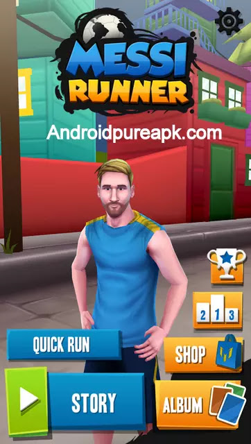 Messi Runner Hack Apk