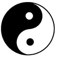 Yin Yang symbol of Taoism of Duality