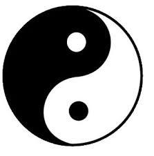 Taoist symbol, yin and yang