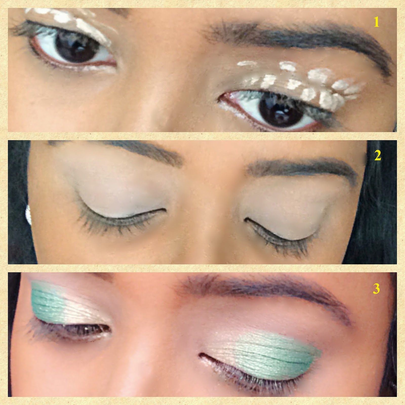 makeup addict: purple-green eye makeup tutorial with sleek i