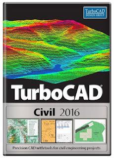 TurboCAD Civil 2016 23.2 Build 47.3 (x86/x64) Full Keygen