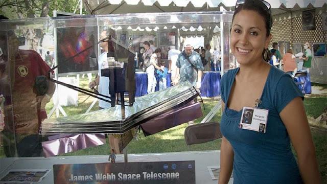 Estudiante mexicana triunfa en la NASA