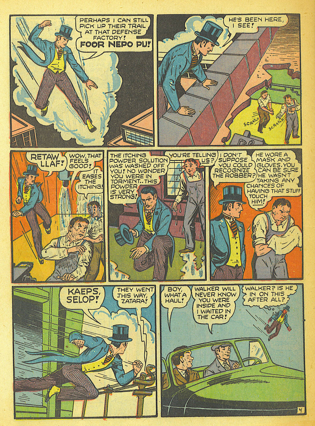 Read online Action Comics (1938) comic -  Issue #58 - 50