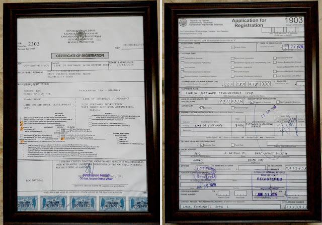 LINE 24 SOFTWARE Development Corp. is SEC registered