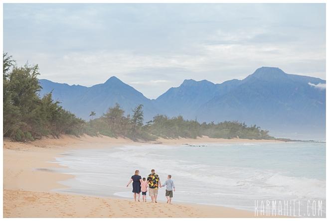 Maui Beach Family Portraits