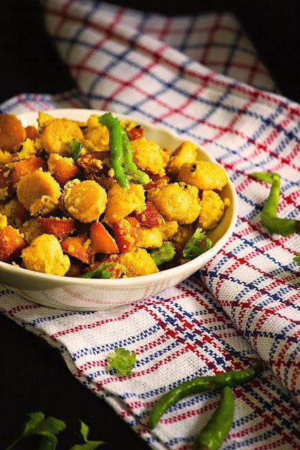 bengali bori posto recipe