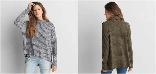 AEO Soft & Sexy Plush Turtleneck $14 (reg $35)