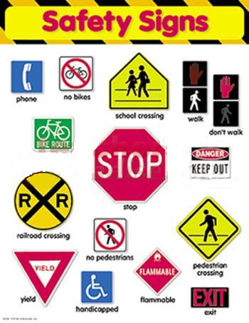 Homeschool Parent: Safety Signs