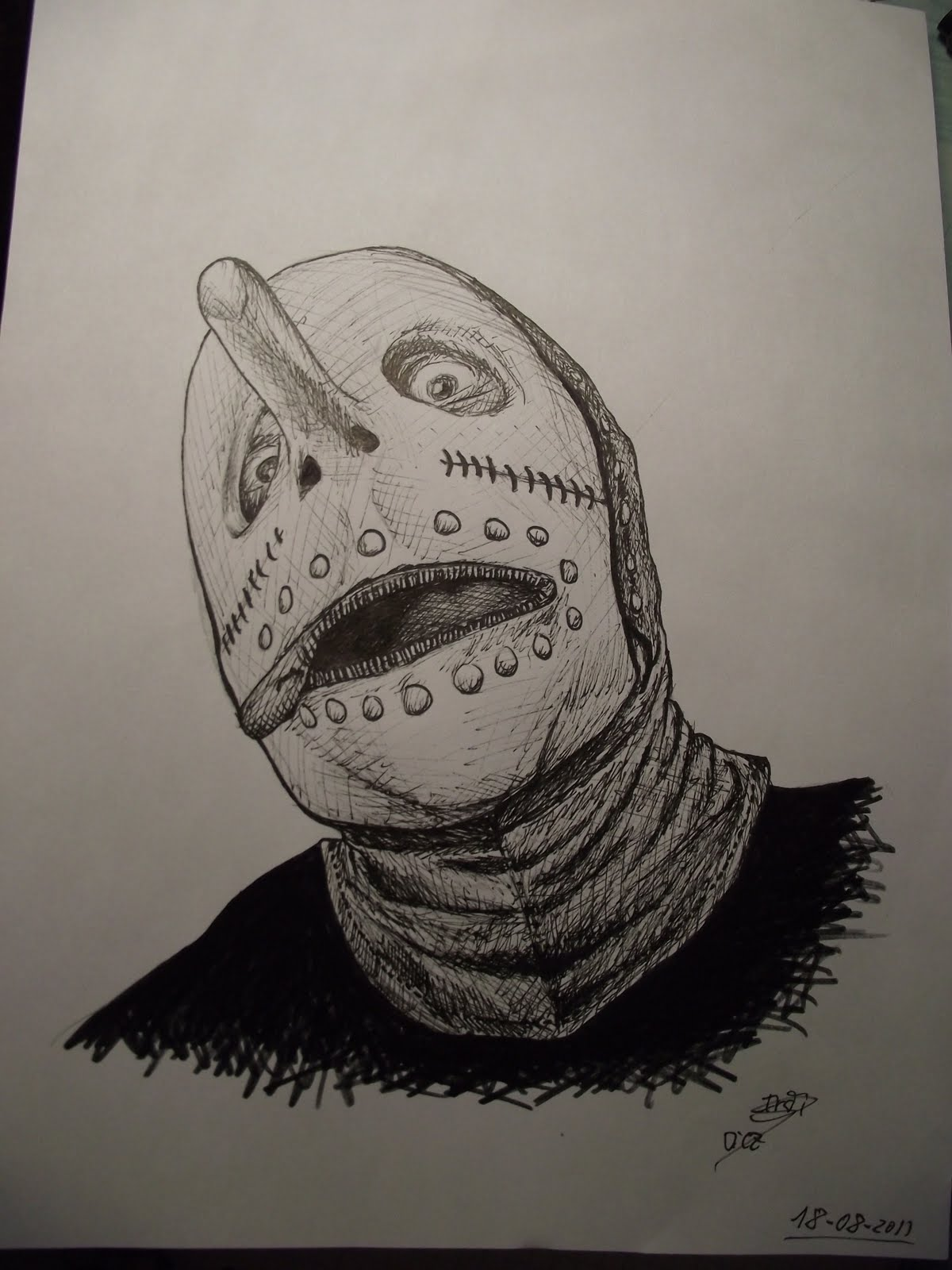 Hris Fehn De Slipknot Dibujos De Ir At T 10 C