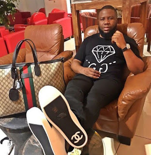 Hushpuppi Flaunts His 'Real' Patek Philippe Watch After Slamming Ice Prince & Phyno For Wearing Fake