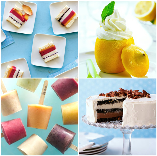 30+ Decadent and Delicious Frozen Desserts - via BirdsParty.com