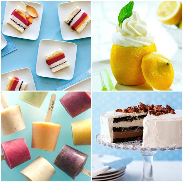 30+ Decadent and Delicious Frozen Desserts - via BirdsParty.com