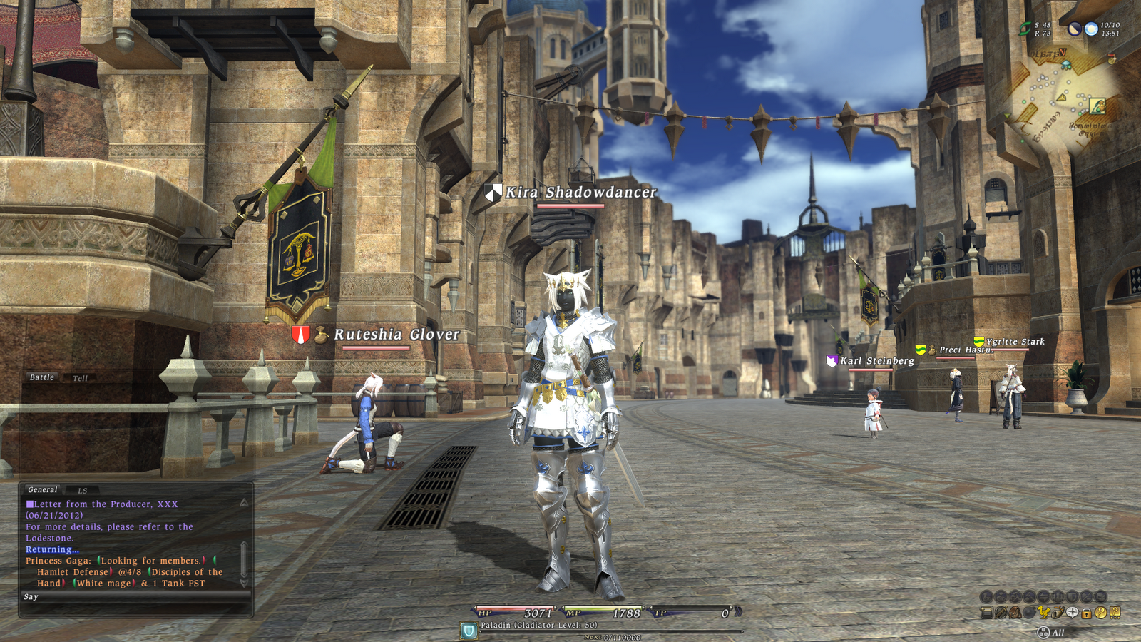 The best blog in the universe: Final Fantasy XIV 2.0: Too ...