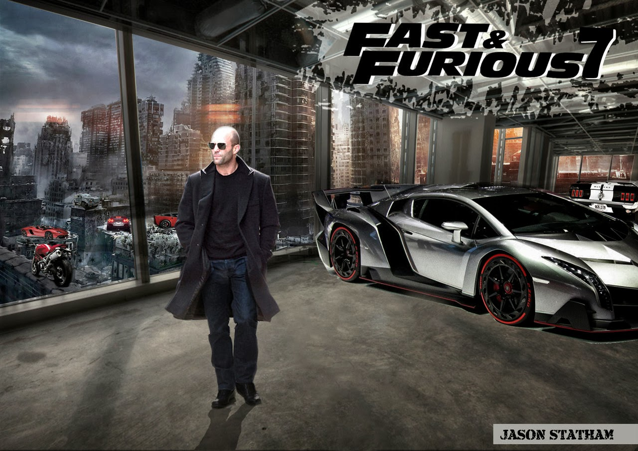 Fast And Furious 7 Wallpaper: Fast And Furious 7 Posters HD Wallpaper
