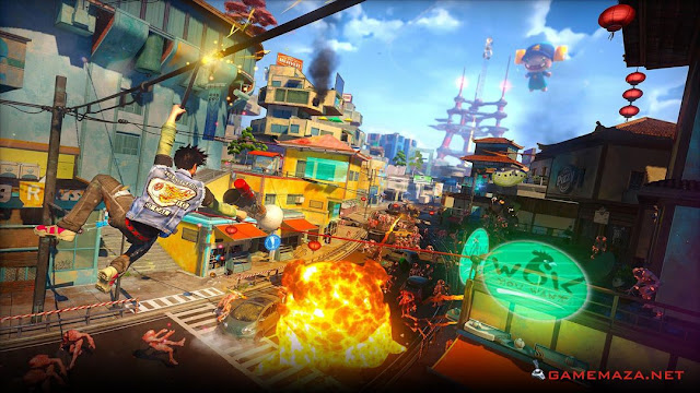 Sunset Overdrive Gameplay Screenshot 2