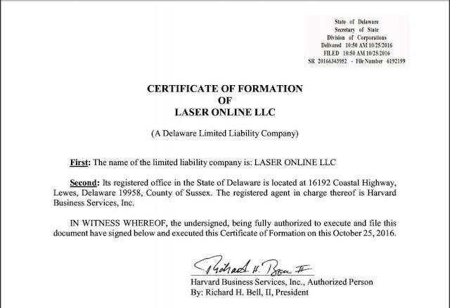laser online scam