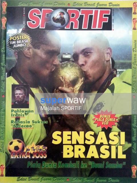 Majalah SPORTIF: SENSASI BRASIL
