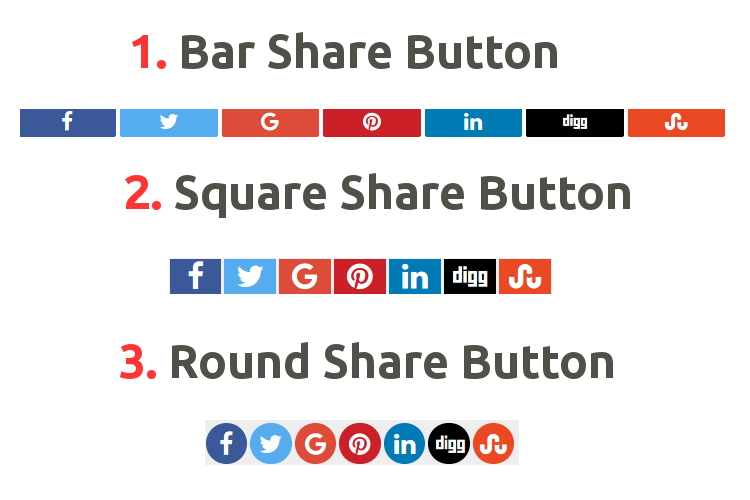 Custom Share Button