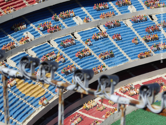 Camp Nou - Fútbol Club Barcelona Cataluña en Miniatura - Catalonia Miniature