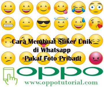 Stiker Unik di Whatsapp
