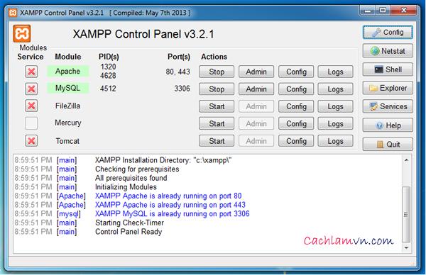 Hướng dẫn cài đặt wordpress trên localhost bằng Wampp