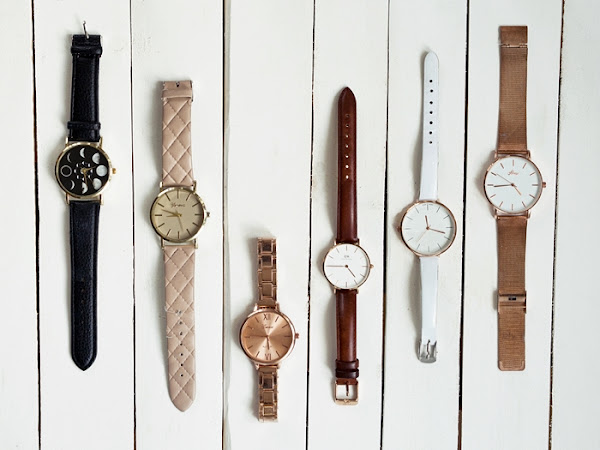 228. Moja kolekcja zegarków + kod rabatowy 15 % na zegarki DW