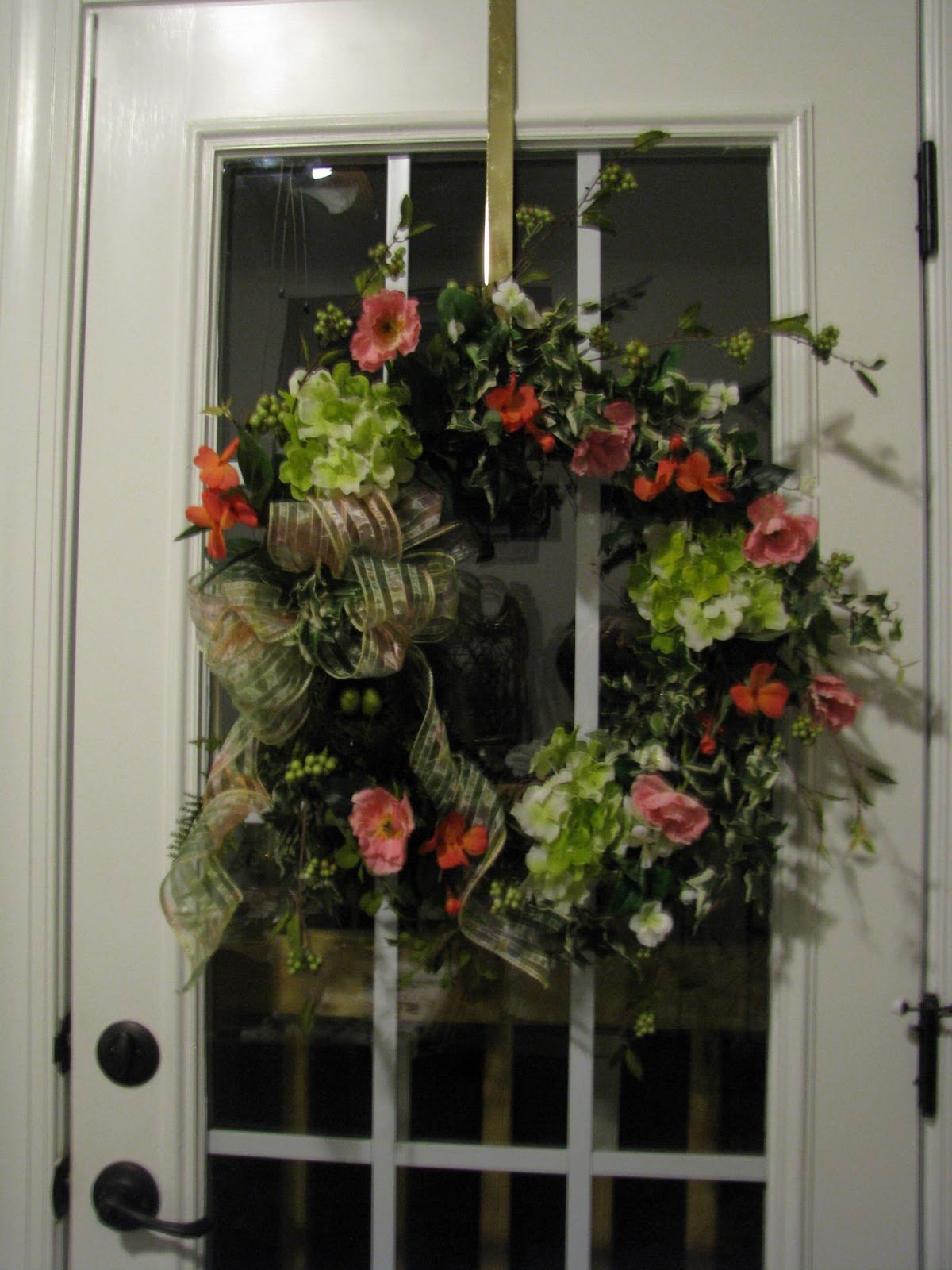 Designs By Pinky: ~~~Another Spring/Summer Wreath And